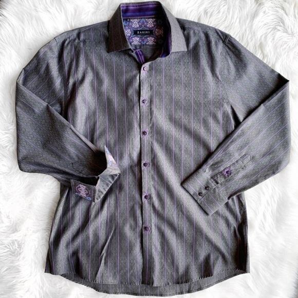 818b0c2a9 Zagiri Shirts | Embroidered Button Down Long Sleeve Shirt | Poshmark